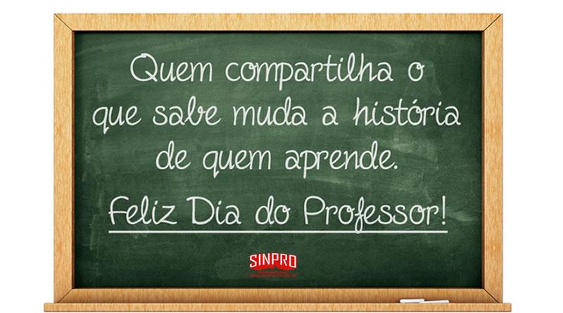 Feliz Dia Do Professor Sindicato Dos Professores De Florianopolis