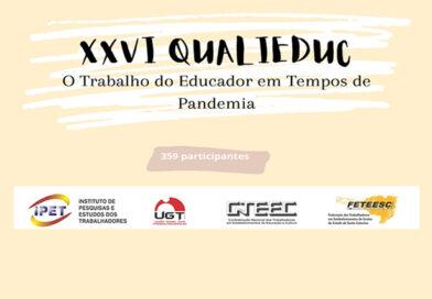 CONDIÇÕES DE TRABALHO DOS PROFESSORES – COVID19